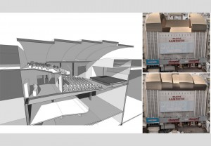 Conversion of Lampeti Theater in Athens into a Summer Theater with a Sliding Roof 1