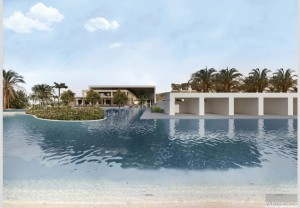 Minos Imperial Hotel in Crete - Main building & outdoors Redesign 1