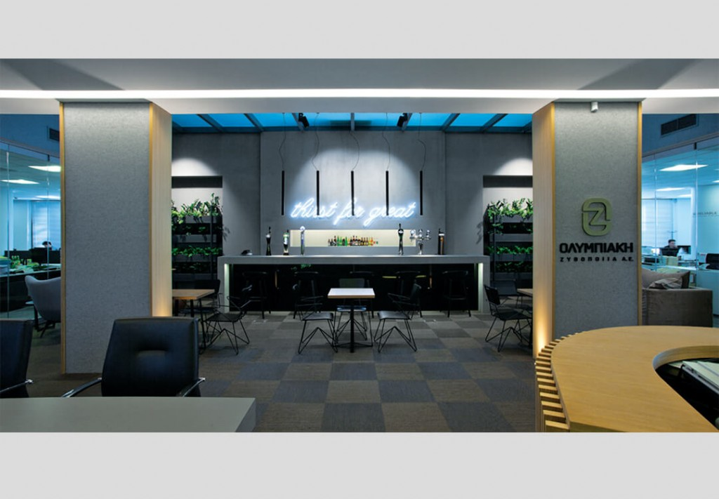 Olympic Brewery SA New Interactive Work Spaces in Kifisia 5
