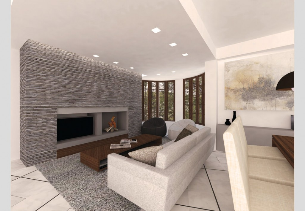 Redesign of residence on Terpsichoris Street in Dionisos 2